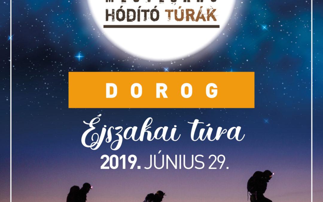 Különleges éjszakai túra Dorogon