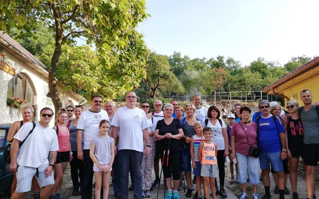 Több, mint 250 túrázót látott vendégül a Pilis